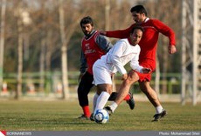 تیم فوتبال پیشکسوتان مقابل آرارات به پیروزی رسید