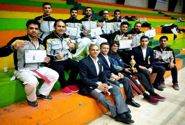 کاراتهکاران اصفهانی در رقابتهای قهرمانی کارگران کشور سوم شدند