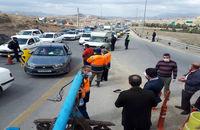 اجرای طرح فاصله گذاری اجتماعی در مبادی ورودی و خروجی استان تهران+ فیلم