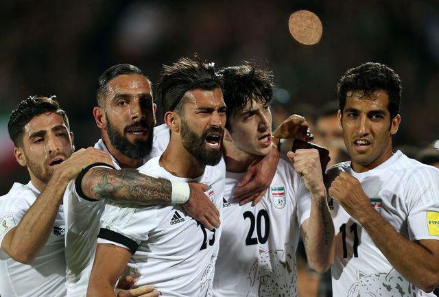 تیم ملی فوتبال ایران سال 2016 را با صدرنشینی به پایان رساند