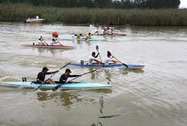 قایقرانان استان قزوین فردا در قهرمانی کشور به آب می زنند