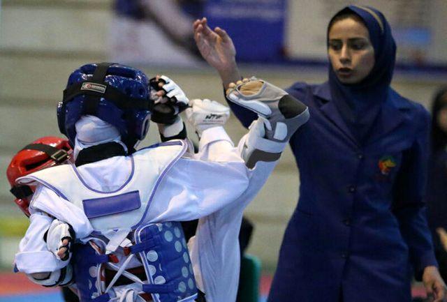 قهرمان لیگ تکواندو منطقهای خردسالان دختران مشخص خواهد شد