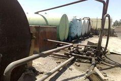 ۱۰۰ هزار لیتر سوخت قاچاق در بندرماهشهر کشف شد