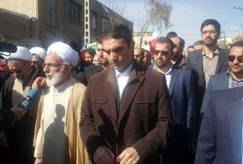 حماسه حضور در مهد مفاخر ایران زمین