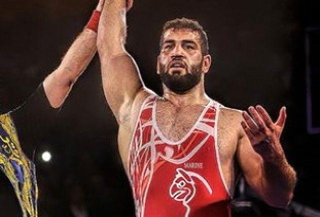صادق زاده پهلوان ایران در سال97 شد