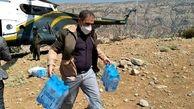 حضور میدانی استاندار کهگیلویه و بویراحمد در مهار آتش سوزی کوه نیر
