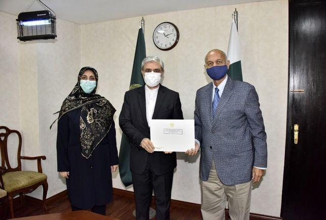 سفیر ایران و رییس کمیته روابط خارجی سنای پاکستان رایزنی کردند
