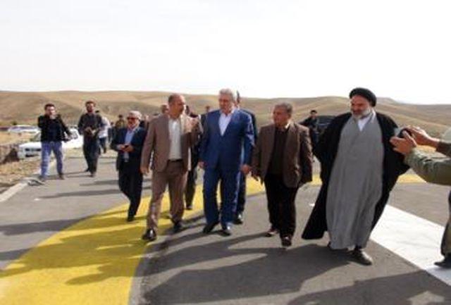 معاون رئیس جمهور از پروژه در حال توسعه تفریحی و گردشگری بوستان غدیر شهر آبسرد بازدید کرد