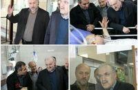 بازدید وزیر بهداشت از بیمارستان شهید مفتح ورامین