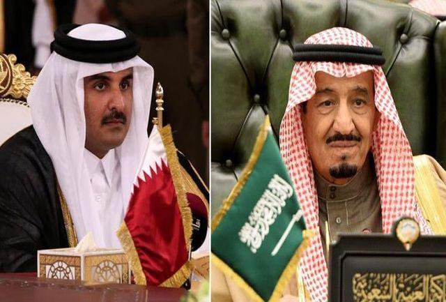 ملک سلمان امیر قطر را به ریاض دعوت کرد