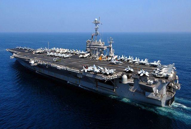 پس از 8 ماه، یک ناو هواپیمابر آمریکایی در خلیج فارس مستقر میشود