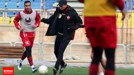 گلمحمدی پا به پای سرخپوشان تمرین کرد