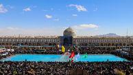 راهپیمایی ۲۲ بهمن - اصفهان