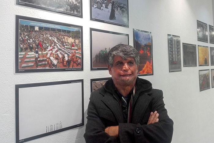 احمدرضا مداح عکاس خبرگزاری برنا منتخب نمایشگاه دوربین.نت شد