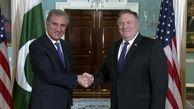 پمپئو با همتای پاکستانی اش با محوریت ایران گفتگو کرد