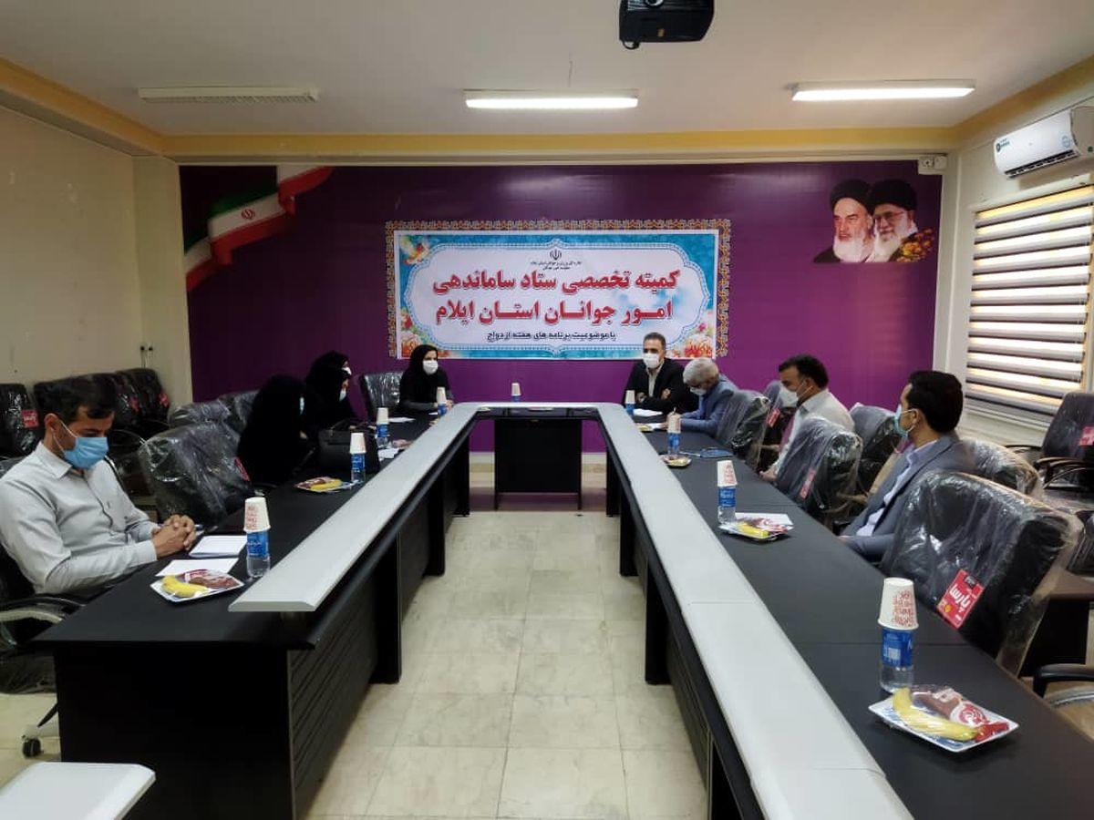 برگزاری جلسه کمیته تخصصی ستاد ساماندهی امور جوانان استان ایلام