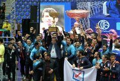 نماینده اصفهان قهرمان مسابقات کشتی فرنگی جام باشگاه های جهان