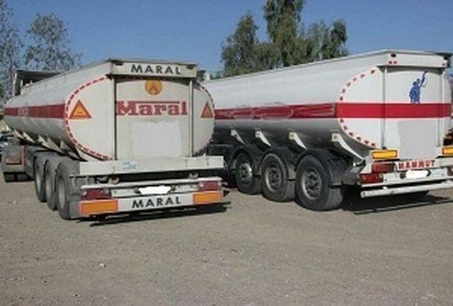 توقیف کامیون با ۱۸ هزار لیتر سوخت قاچاق درایرانشهر