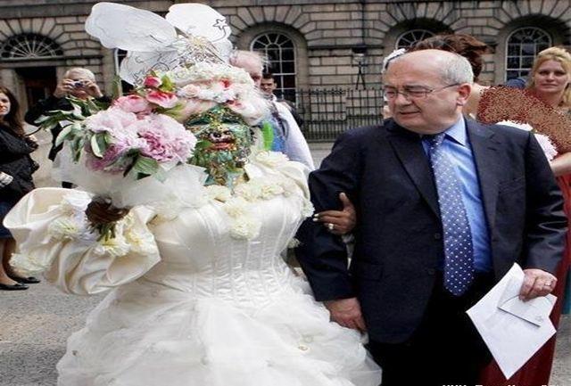زشت ترین عروس جهان+ عکس