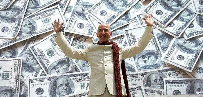 ثروت مدیر آمازون در یک روز ۱۳ میلیارد دلار افزایش پیدا کرد
