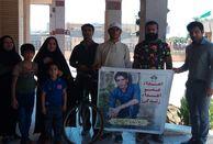 رکاب زن بوشهری مسیر بوشهر تا شهرستان ایذه خوزستان را رکاب زد