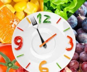 برای لاغر شدن چه زمانی غذا بخوریم؟