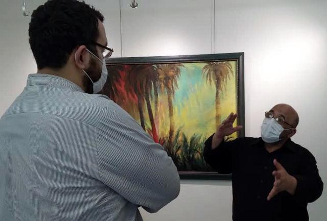 نمایشگاه نقاشی «هم پای نور» قدیریان تمدید شد