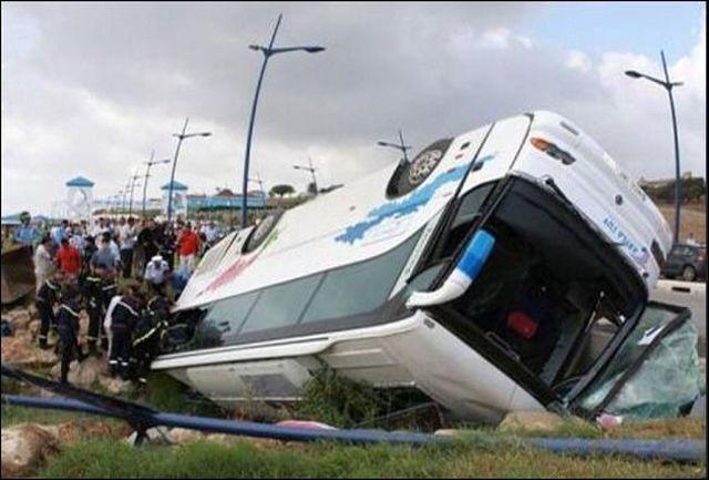 واژگونی اتوبوس در مرودشت با 20 کشته و مصدوم