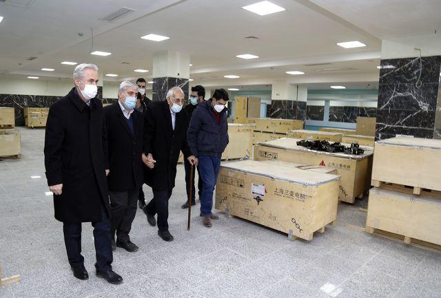 بیمارستان هزار تختخوابی مردانی آذر در تبریز به زودی افتتاح میشود