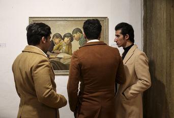 افتتاحیه نخستین نمایشگاه هنرمندان پیشکسوت
