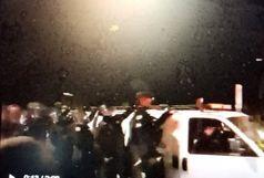 هرگونه تجمع غیرقانونی اعلام شد/ توسل پلیس به زور برای پراکنده کردن معترضان و خبرنگاران