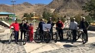 برگزاری برنامه یک روز با دوچرخه و پیاده روی به مناسبت گرامیداشت هفته تربیت بدنی