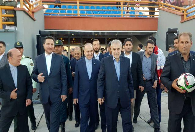 ورزشگاه 6 هزارنفری سلماس افتتاح شد
