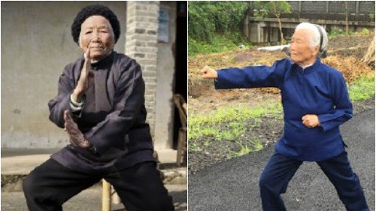 زن 98 ساله استاد کونگ فو است!