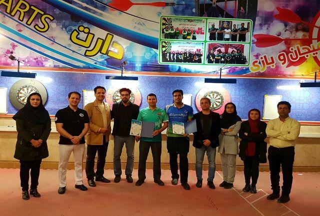 خودنمایی ملی پوشان در مسابقات دارت رنکینگ اوپن کشور