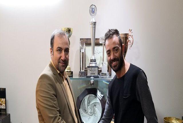پاتریک ویرا لوز به اصفهان آمد
