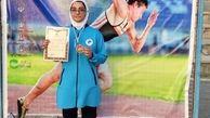 کسب مدال برنز بانوی لرستانی در مسابقات قهرمانی کشور
