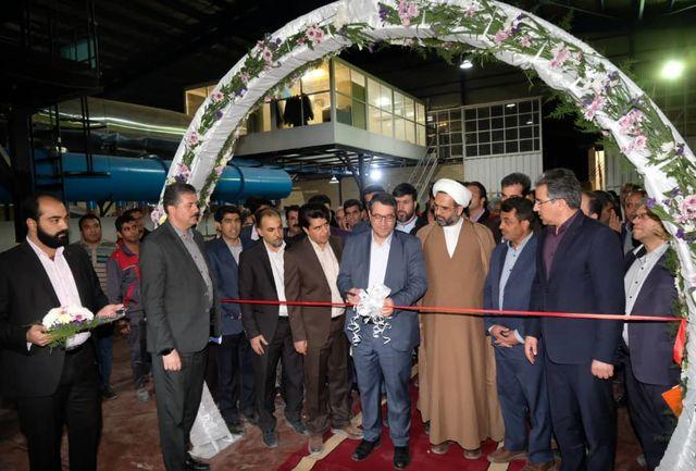 افتتاح شرکت کاشی مهرداد سرام ایساتیس در شهرستان مهریز