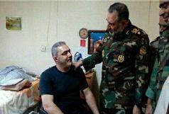 بازدید فرمانده نیروی زمینی ارتش از آسایشگاه جانبازان شهید بهشتی