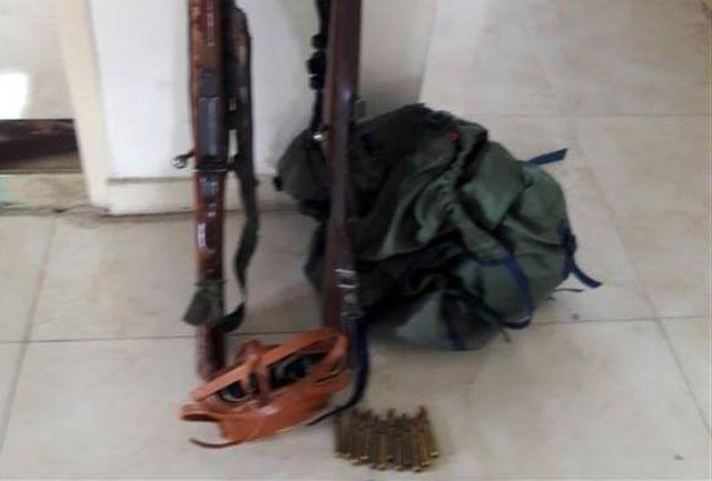 دستگیری شکارچی متخلف قبل از اقدام به شکار در فیروزکوه