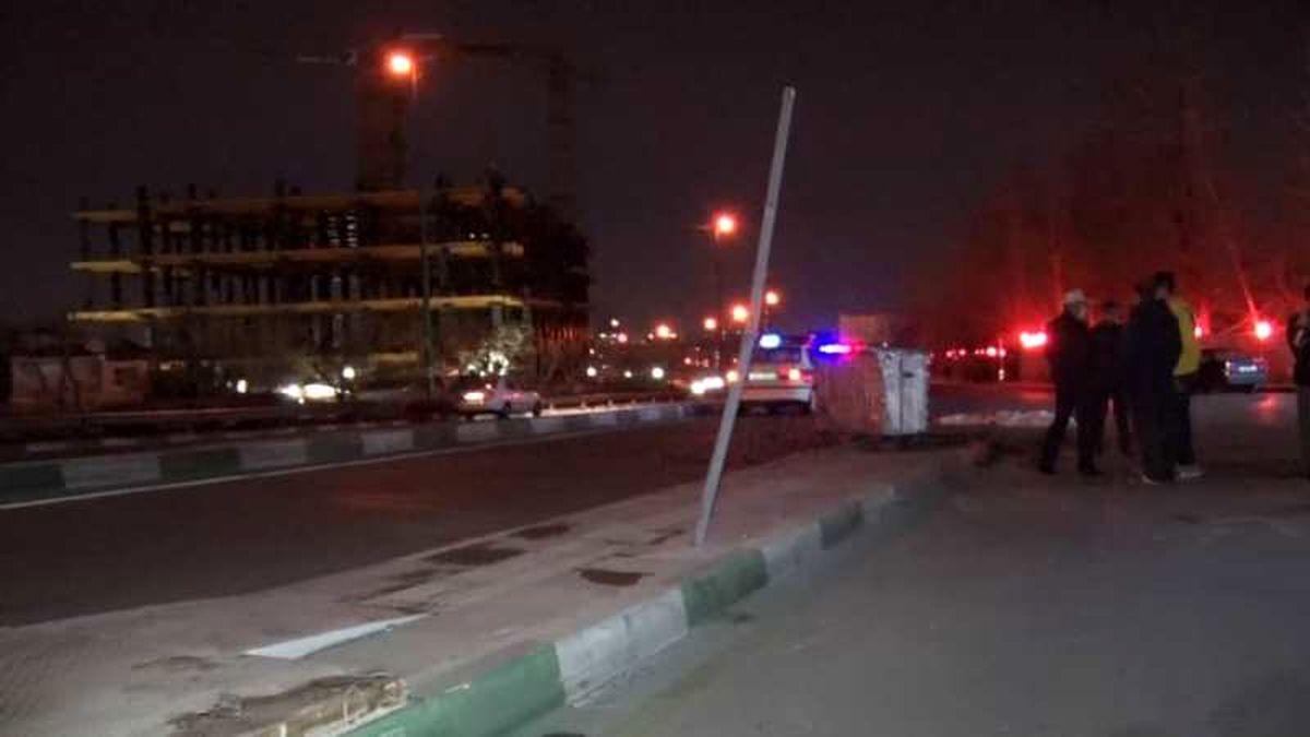 فوت یک نفر در اثر تصادف شدید یک دستگاه هیوندا با یکدستگاه پژو