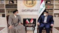 وزیر اطلاعات ایران و مشاور امنیت ملی عراق دیدار و گفت و گو کردند