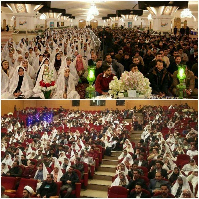 393 زوج دانشجو از دانشگاه های استان زنجان زندگی مشترکشان را آغاز کردند