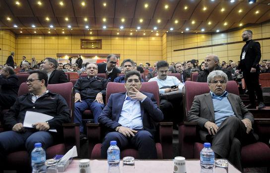 افتتاحیه چهاردهمین همایش ملی لاستیک ایران