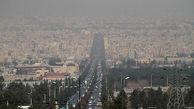 هوای اصفهان بازهم  در وضعیت ناسالم قرار گرفت