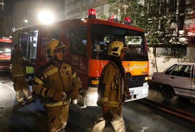 اعزام سریع آتشنشانان به محل حادثه، خانهای را از چنگال حریق نجات داد