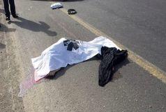 مرگ عابر پیاده در آزاد کرج - قزوین/ بی احتیاطی علت حادثه