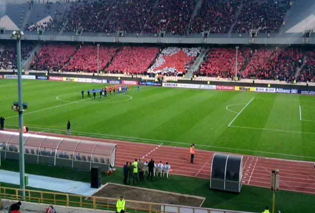 25  هزار تماشاگر در ورزشگاه آزادی