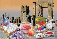 استشمام بوی بهار در کوچه های شیراز پیش از نوروز/هفت میوه در سفره هفت سین