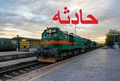 برخورد مرگبار قطار مسافربری با عابر پیاده در قزوین